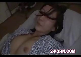 cute milf drilled when in sleep