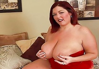 randy redhead fat momma with big bosom