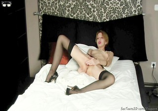 photographer is fucking slender angel by sex toy